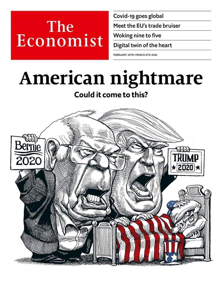 Editie van 29 februari 2020. Beeld The economist