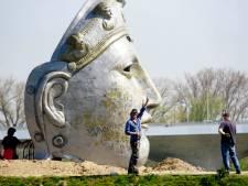 Het Romeinse masker van Andreas Hetfeld heeft zijn tocht voltooid, en staat