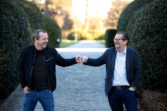 Miguel Wiels en Marc Coucke