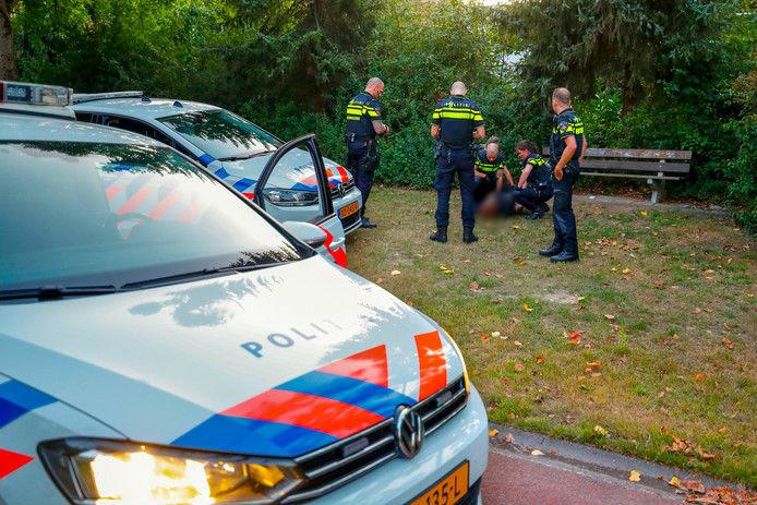 Maandag werd de man, die al jaren een buurt terroriseert, opgepakt door de politie.