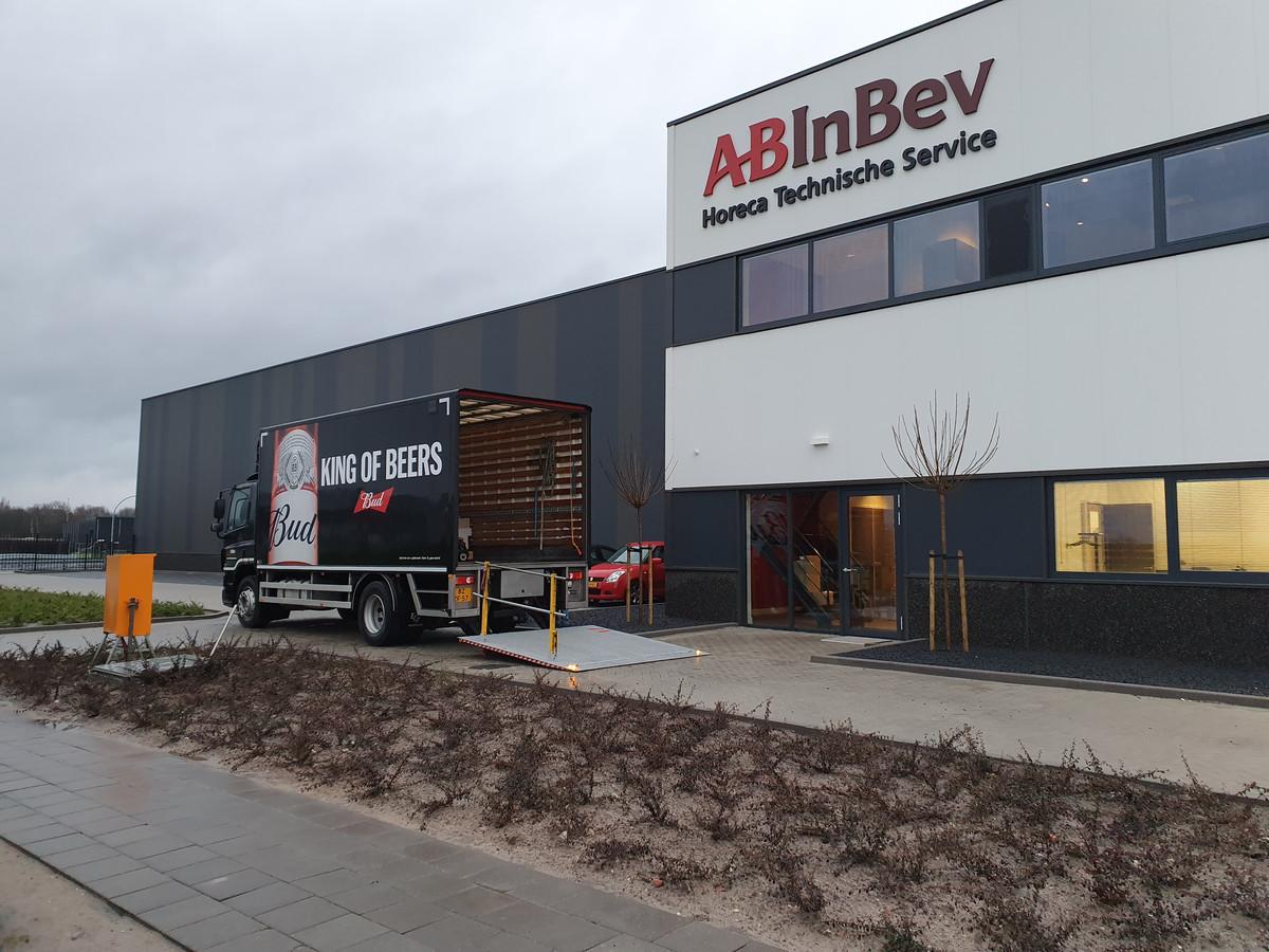 Het nieuwe pand van AB InBev in Gilze