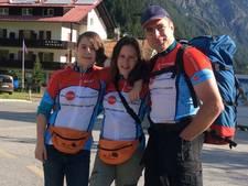 Driebergse zusjes lopen 12.000 euro bij elkaar voor zieke vader