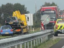 Ongeluk op N36 bij Westerhaar door levensgevaarlijke actie