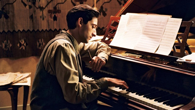 Adrien Brody in 'The Pianist' Beeld TMDB