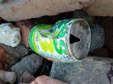 Blikjes in de jaren tachtig weggesmeten, nu pas gevonden door afvalrapers
