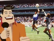 Quiz | In welke ronde van het WK scoorde Maradona met 'de hand van God'?