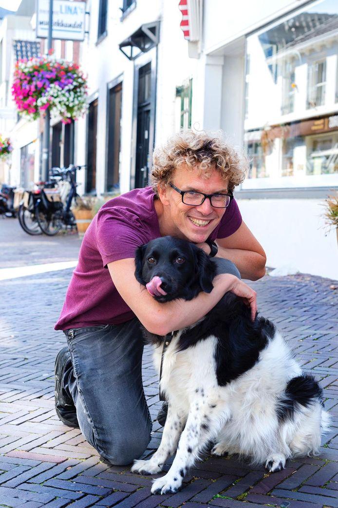 Mark Helversteijn-Smit behaalde in twee dagen tijd de benodigde 15.000 euro voor een balansrolstoel.