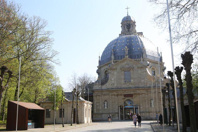 De basiliek in Scherpenheuvel.