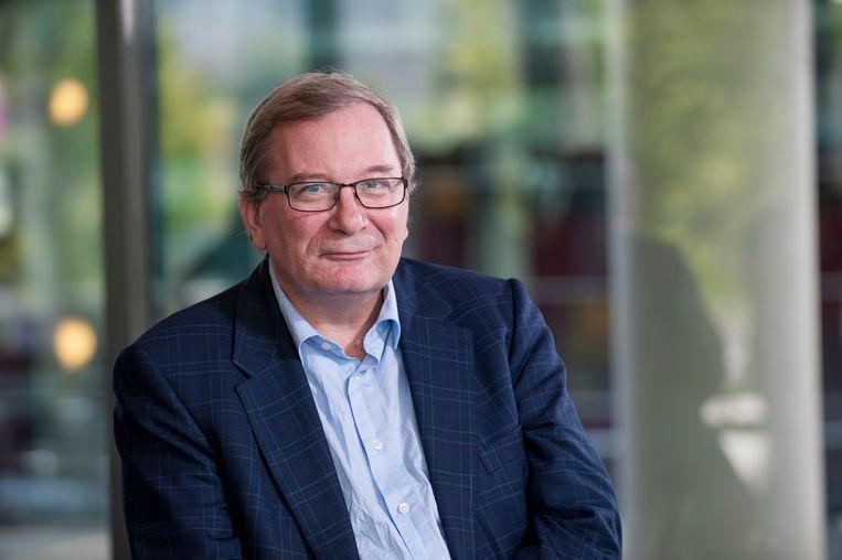 Frits Rosendaal, hoogleraar klinische epidemiologie bij het Leidsch Universitair Medisch Centrum.  Beeld Arno Massee