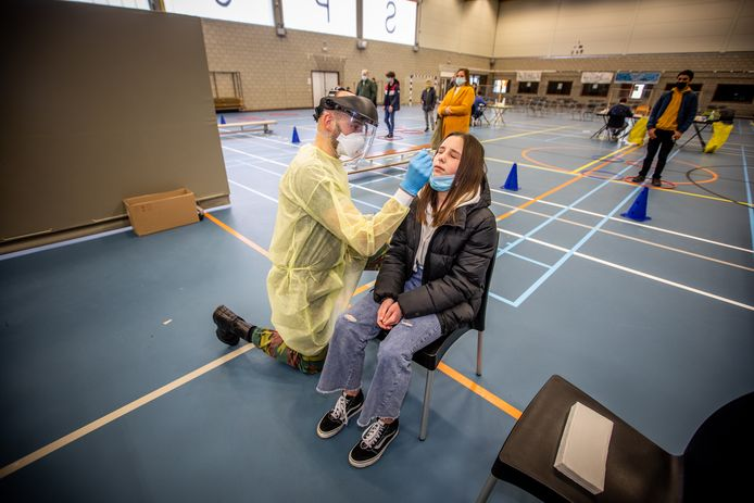 Sint-Truiden test 700 kinderen, met hulp van het leger