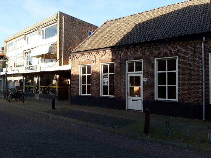 Het pand aan de Molenstraat 19 in Deurne