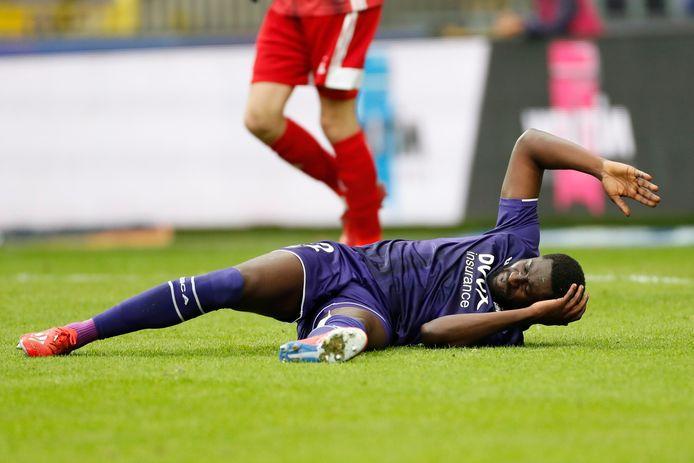Luckassen had boter op het hoofd bij de late gelijkmaker van Eupen tegen Anderlecht afgelopen weekend.