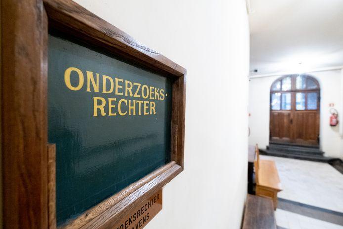 De onderzoeksrechter in Mechelen.