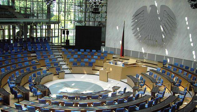 De Duitse Bundestag