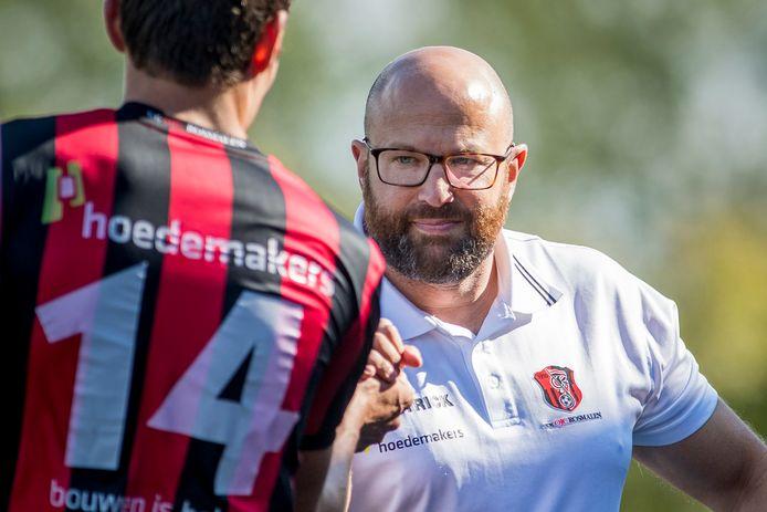 Hoofdtrainer David Vecht van OJC Rosmalen.