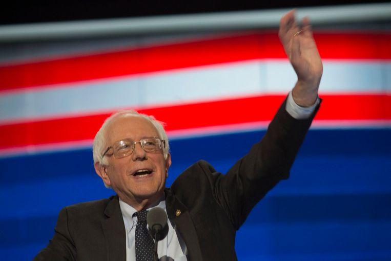 Op veel steun van ontgoochelde Sanders-stemmers moet Clinton niet rekenen. Beeld Photo News