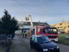 Brandweer rukt uit voor schoorsteenbrand in Kampen