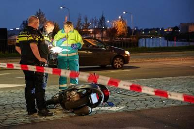Scooterrijder gewond bij botsing met andere scooter in Breda