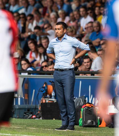 Van Bronckhorst: Vertrouwen weg na de 1-0