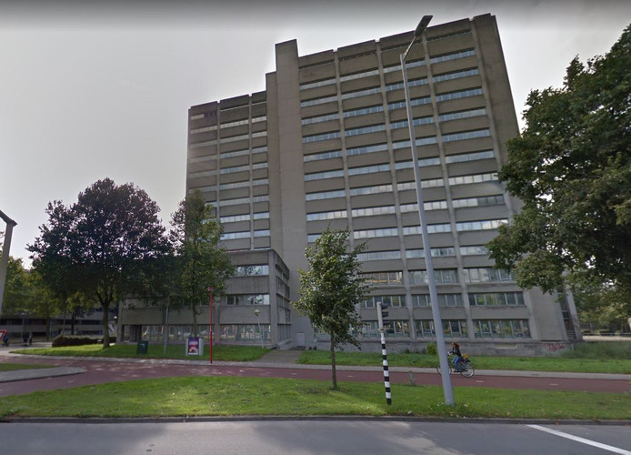 De voormalige Belastingtoren aan de Gerbrandystraat in Utrecht.