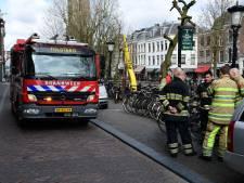 'Aparte' gaslucht aan Oudegracht blijkt loos alarm