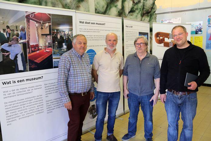 Leo Van den Broeck,Hubert Willems,Ronny Marannes & Cor Vanistendael.
