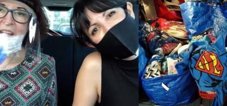 Elles récoltent pour 29.000 euros d'objets en fouillant dans des poubelles