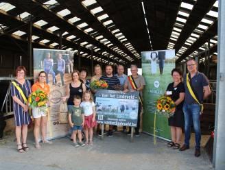 Gemeentebestuur Linter huldigt Korte Keten Kop-winnaar Van het Lindeveld