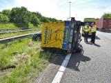 Ongeval op A58 vlakbij Bavel, file is voorbij
