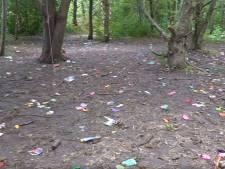Woede en onbegrip om ravage na feest in park Hoofddorp