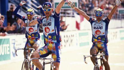 1-2-3! 24 jaar geleden reden Museeuw en Mapei de tegenstand compleet zoek op weg naar Roubaix
