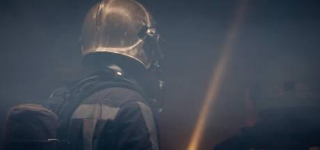 Veel rookoverlast door grote brand oude belastingkantoor Leeuwarden