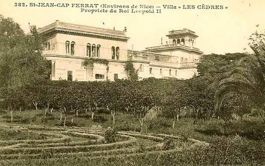 """La """"Villa Leopolda"""""""