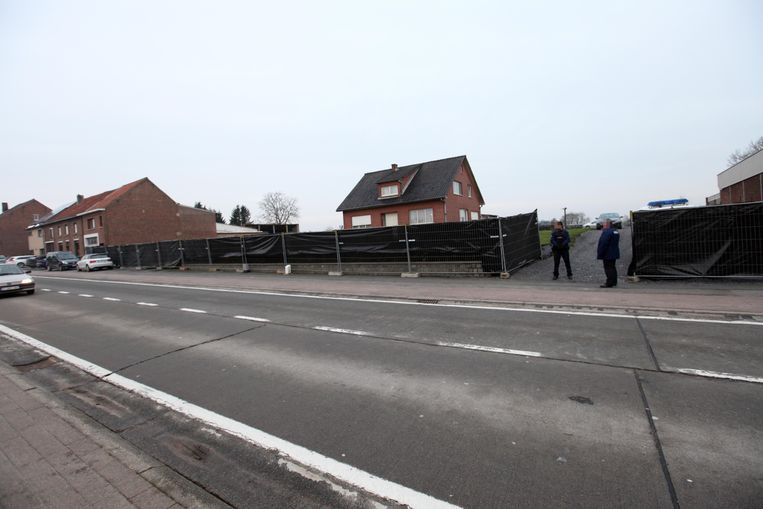 De woning van slachtoffer Robert Paridaens (89), waar de puddingmoord plaatsvond