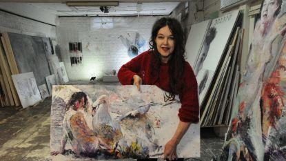Ulrike Bolenz stelt tentoon én verkoopt werken