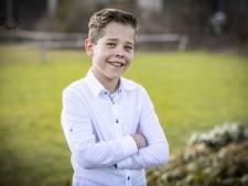 Nieuwe en 'superblije' kinderburgemeester Mats (10) uit Geesteren: 'Iedereen vindt mij er geschikt voor, zelfs de meester'