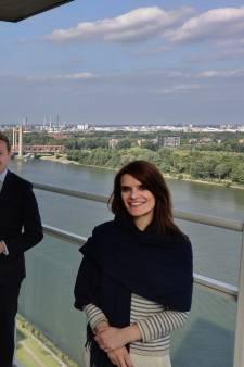 Bereikbaarheid Voorne-Putten móét beter, minister Barbara Visser kwam langs om het daarover te hebben
