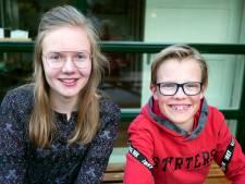 Berit en Pepijn (12) brengen hoopvolle, blije radioboodschap op Goede Vrijdag