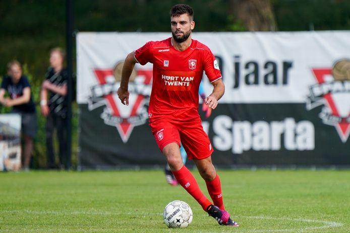 Robin Pröpper debuteerde zaterdag voor FC Twente.