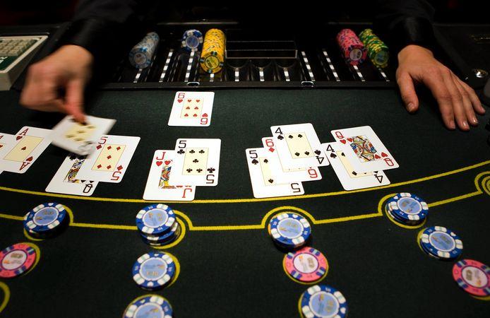 Het spel blackjack bij Holland Casino in Breda