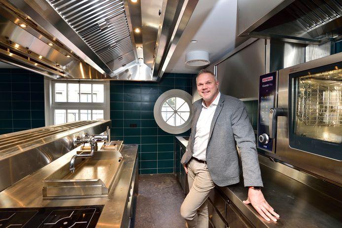 Chef-kok Martijn Kajuiter wordt de zogenoemde executive chef voor alles dat met eten te maken heeft in het nog te openen hotel WSHS in Gouda.