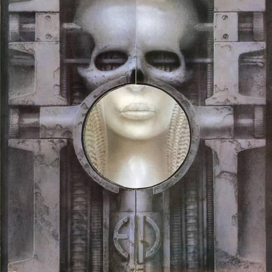 Brain Salad Surgery, de door Giger ontworpen hoes voor Emerson, Lake & Palmer
