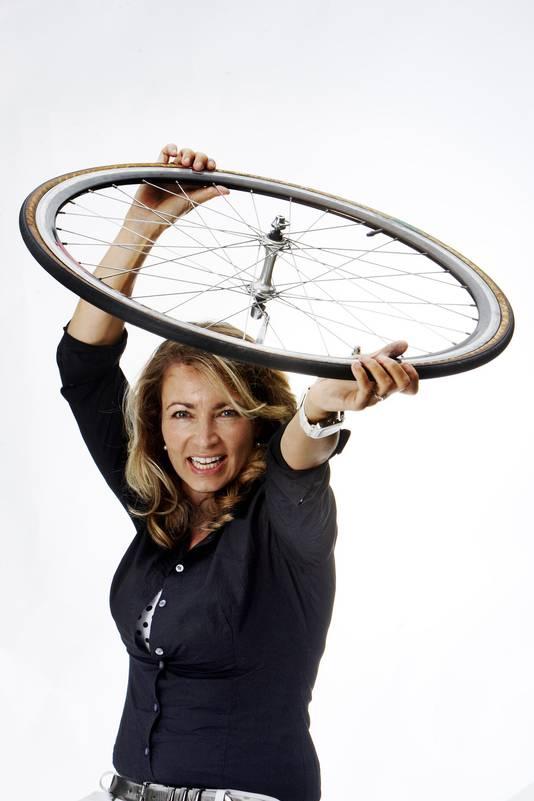 Renate Verhoofstad, columniste van AD Sportwereld.
