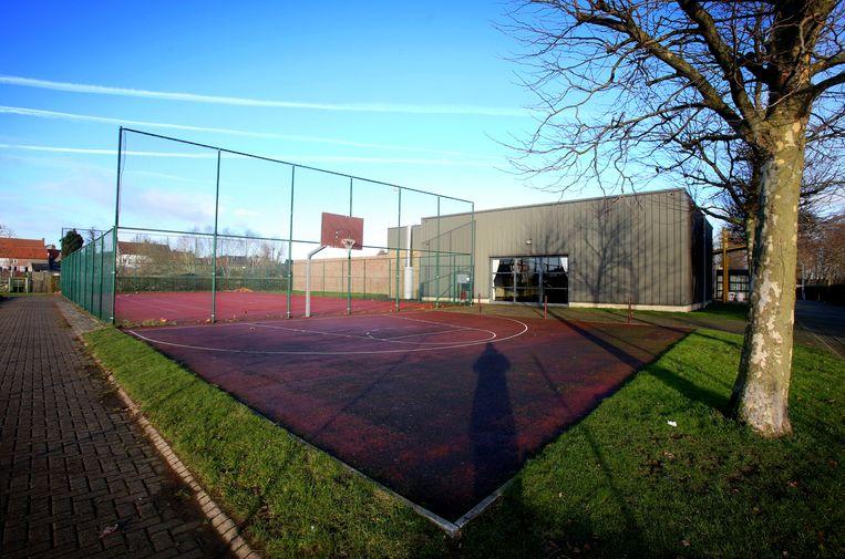 Archieffoto Sporthal Ter Beke in Oudenburg