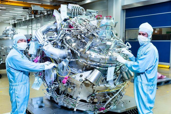 VDL ETG produceert onderdelen van de chipmachines van ASML.