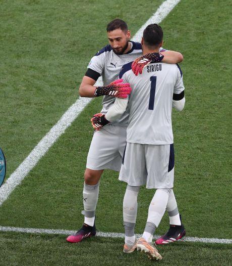 Mancini wil zijn spelers teleurstelling besparen: komt derde keeper in actie tegen Oostenrijk?
