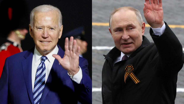 Biden en Poetin Beeld Getty Images
