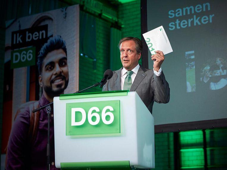 Alexander Pechtold van de D66. Beeld anp
