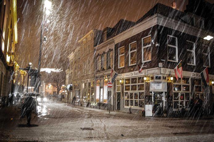 Sneeuw in Brabant.