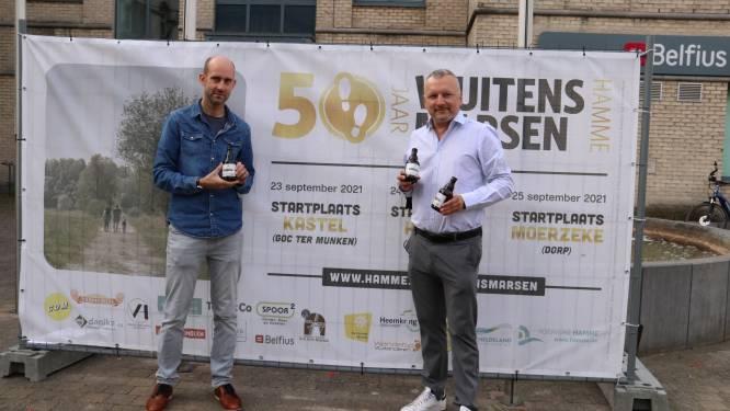 Wuitensmarsen vieren Gouden jubileum met eigen bier en nieuw kunstwerk